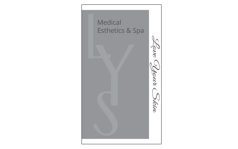 lys spa business cards - Spa Business Cards
